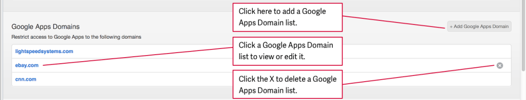 Proxy Server Google Apps Domains