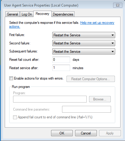 ua-restart-service