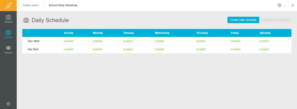 Viewing and Editring Schedules2