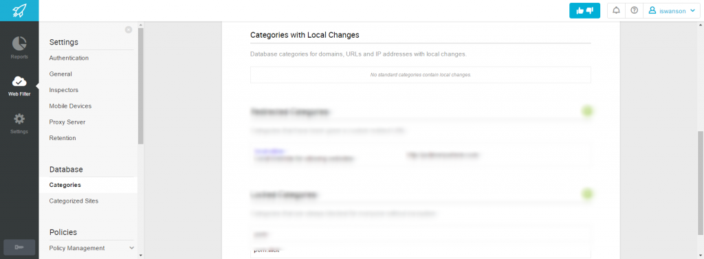 Categories with Local Changes