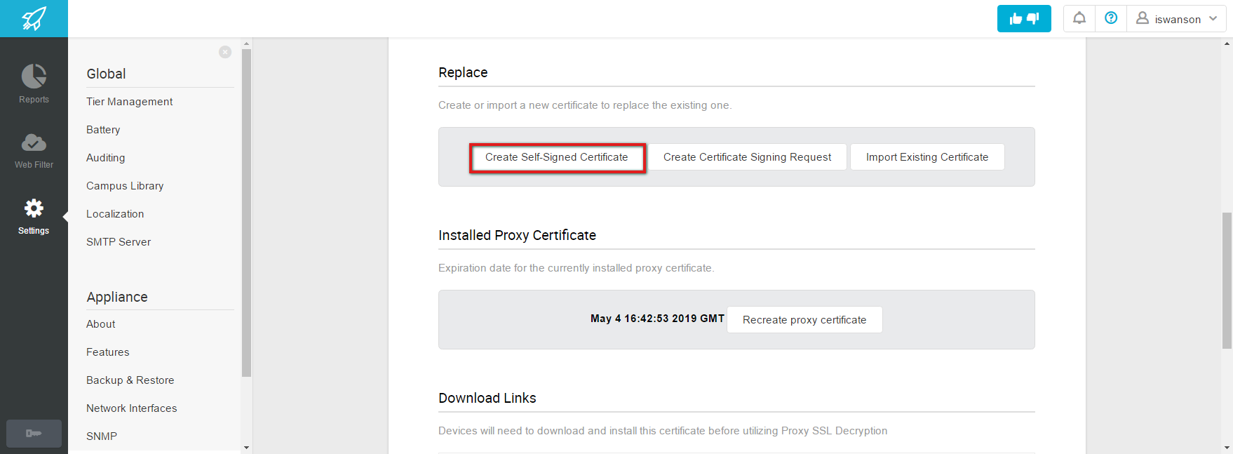 Create Self Signed Certificate Lightspeed Systems Community Site