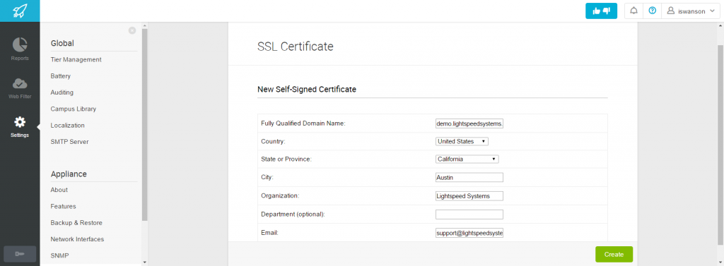 Create Self Certificate2