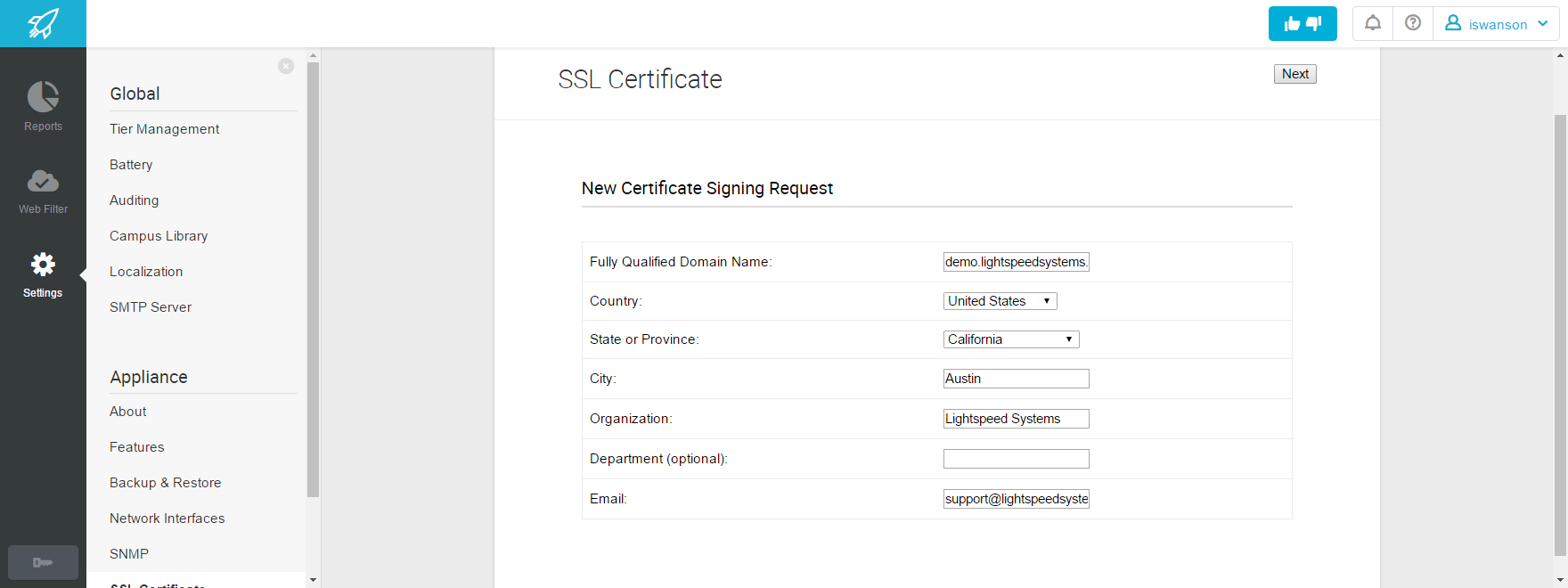 Ssl Certificate Lightspeed Systems Community Site