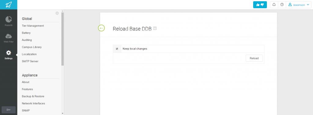 Reload Base DDB