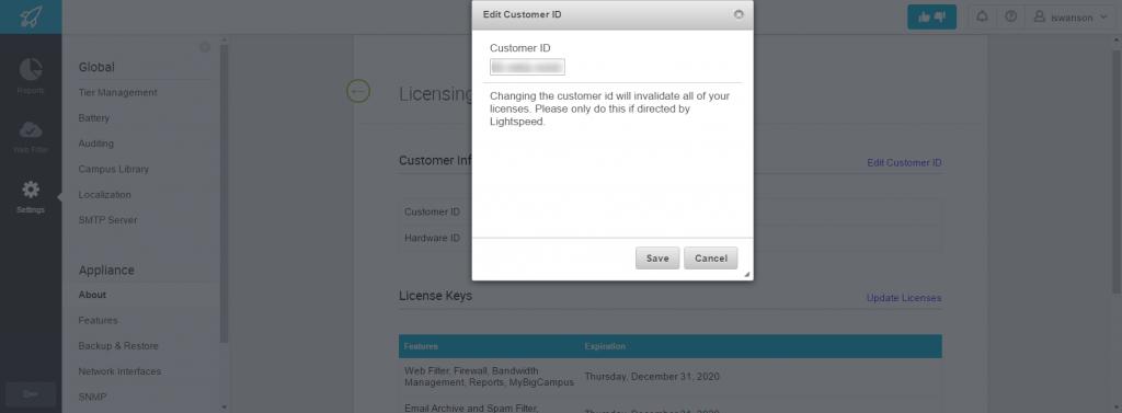 Updating Customer Information