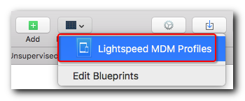 Configuring devices with apple configurator 2 lightspeed systems 2 on the confirmation dialog box click apply to assign the blueprint to the device that is connected to apple configurator malvernweather Images