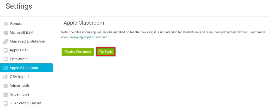 Apple Classroom Lightspeed Systems Community Site