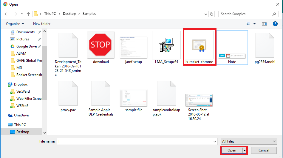 Pushing Ssl Certificates To Chromebooks Through Gafe Lightspeed