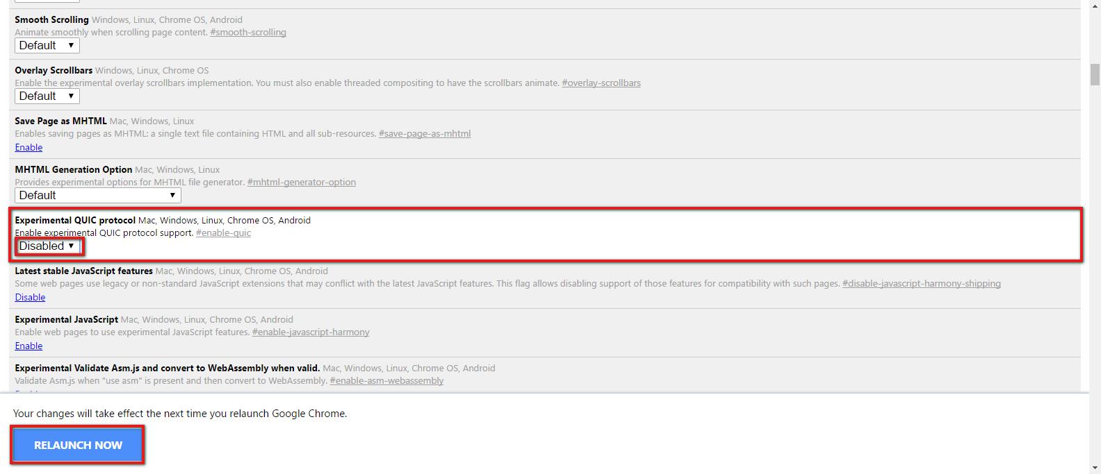 Mac Screenshot 007 How To Enable Youtube's Quic1