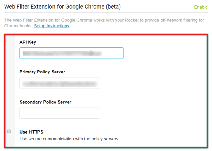 Web Filter Extension for Google Chrome - Lightspeed Systems