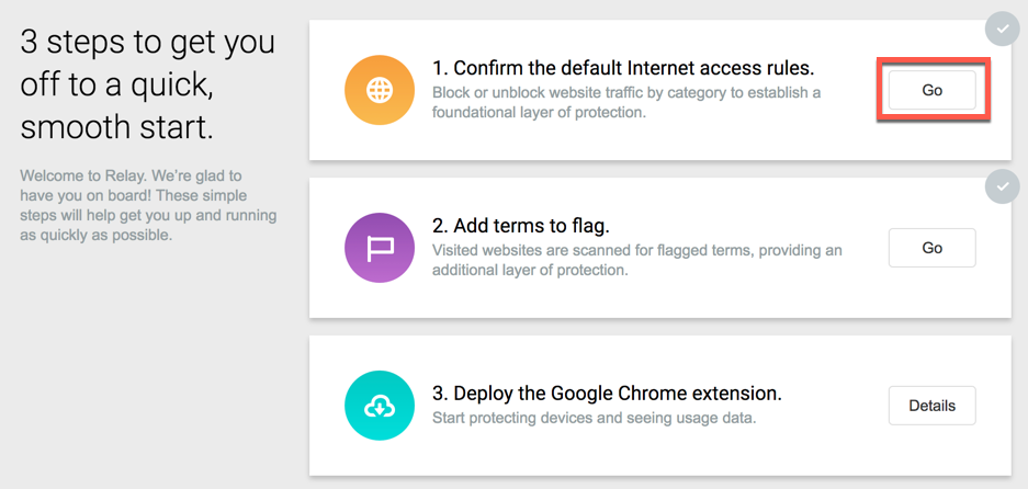Relay for Chrome - Getting Started - Lightspeed Systems Community Site