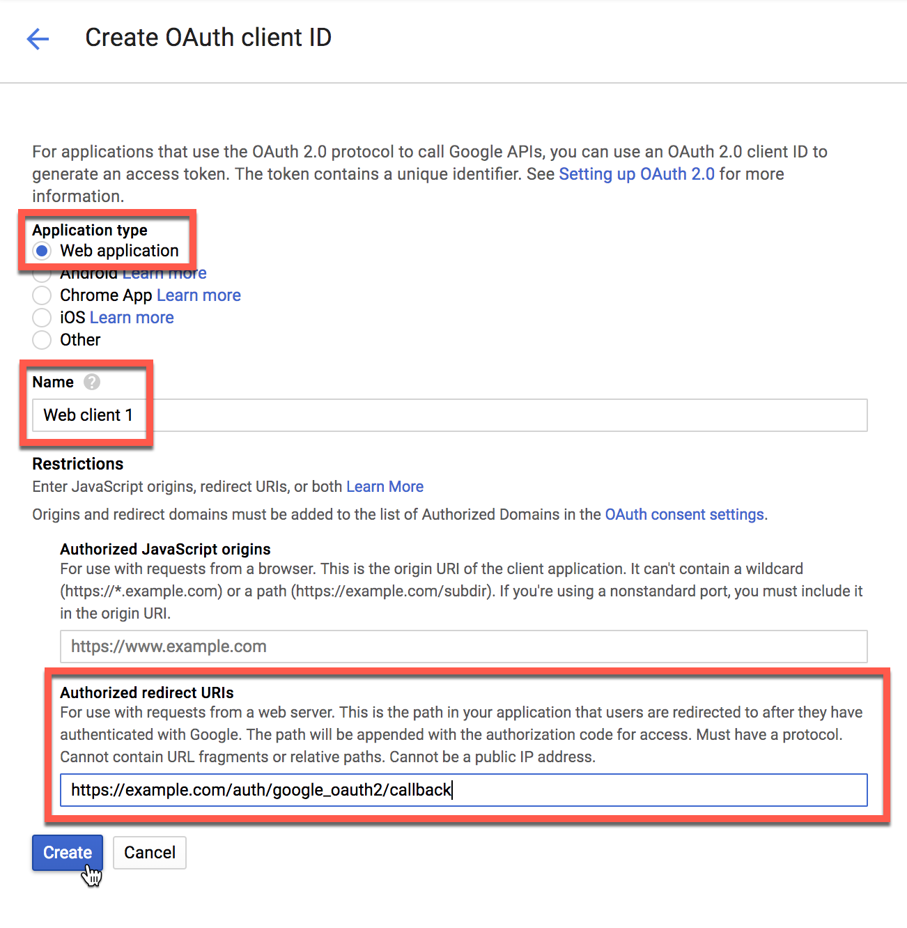 Setting up Google as an Authentication Source - Lightspeed