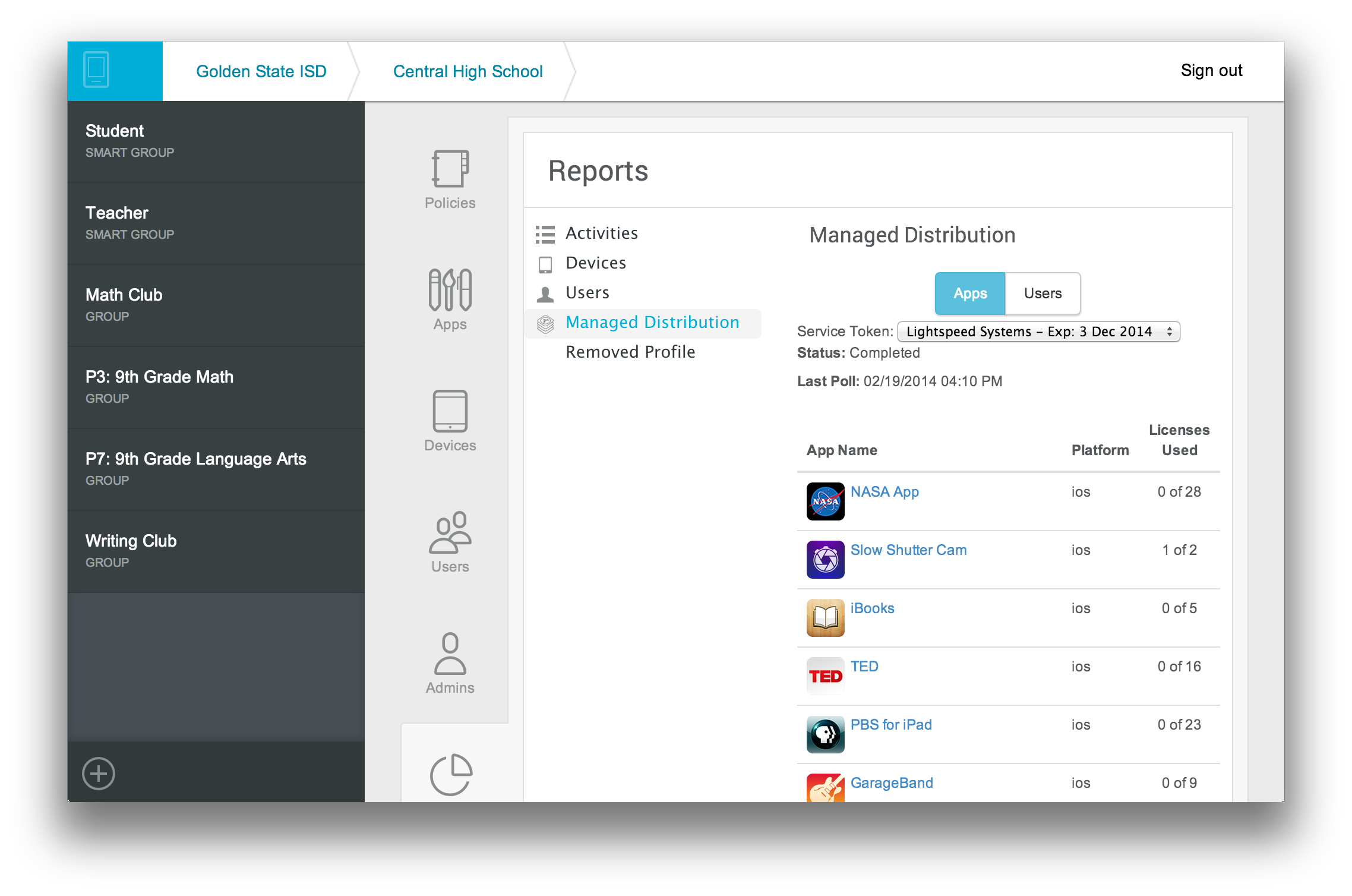 MobileManager-Reports
