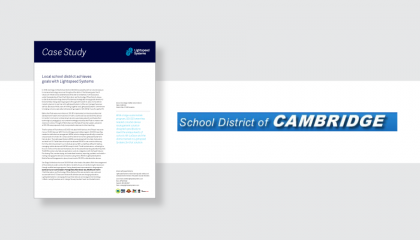 Schol District of Cambridge
