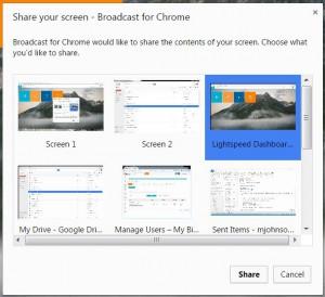Broadcast-Share