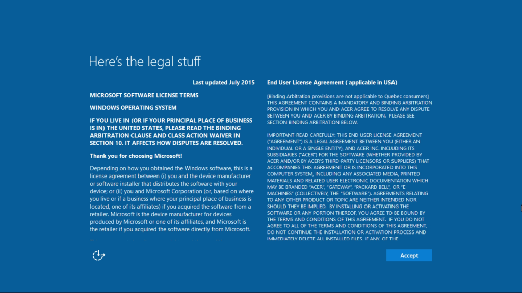 Windows10-OOBE Screenshot 2