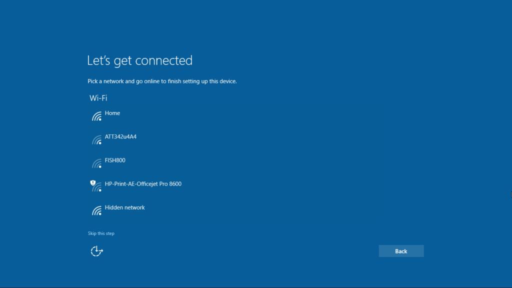 Windows10-OOBE Screenshot 3