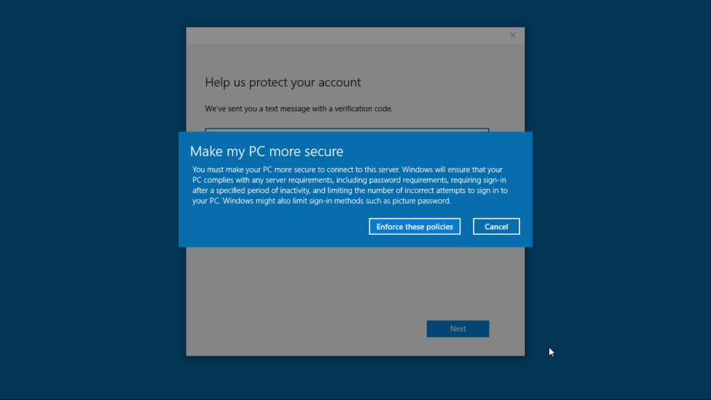 Windows10-OOBE Screenshot 9