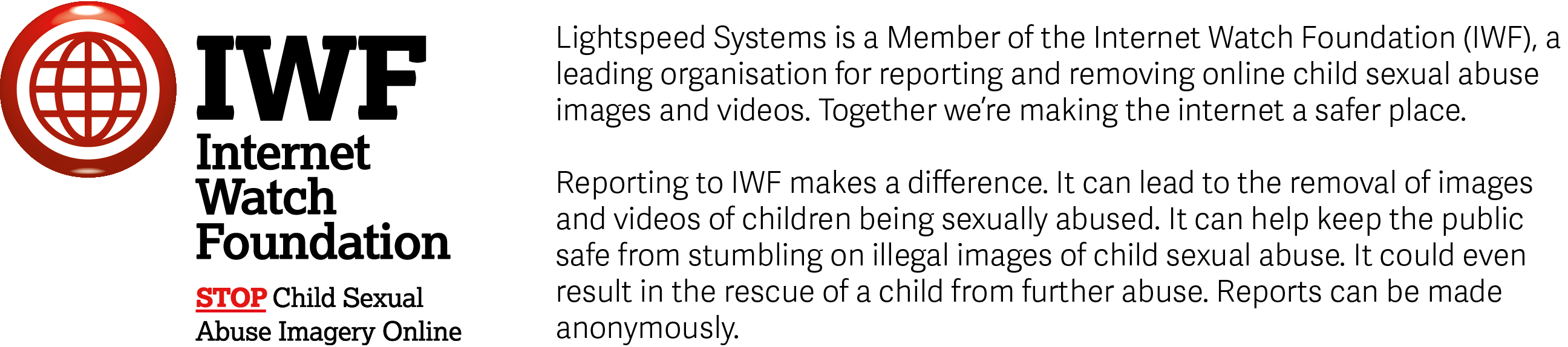 Lightspeed IWF Banner