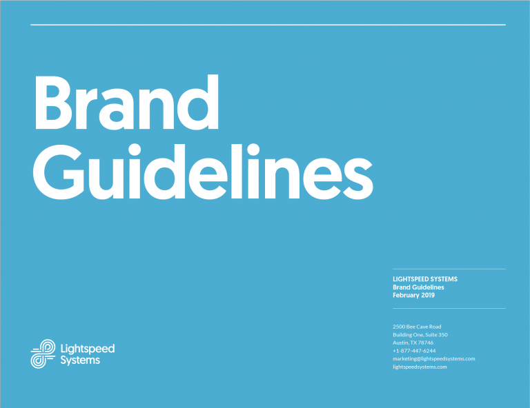 Brand Guidelines Cover image