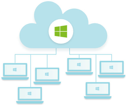 Relay works with Microsoft Cloud-based graphic
