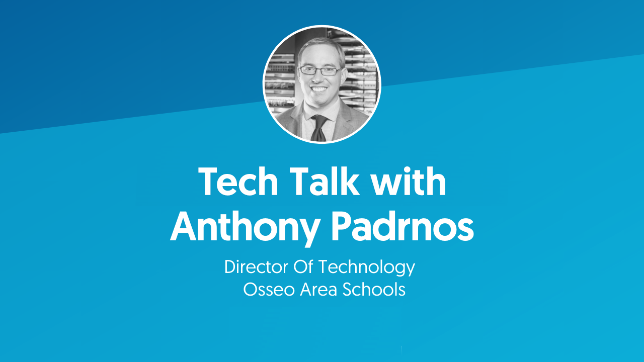 Tech Talk with Anthony Padrnos