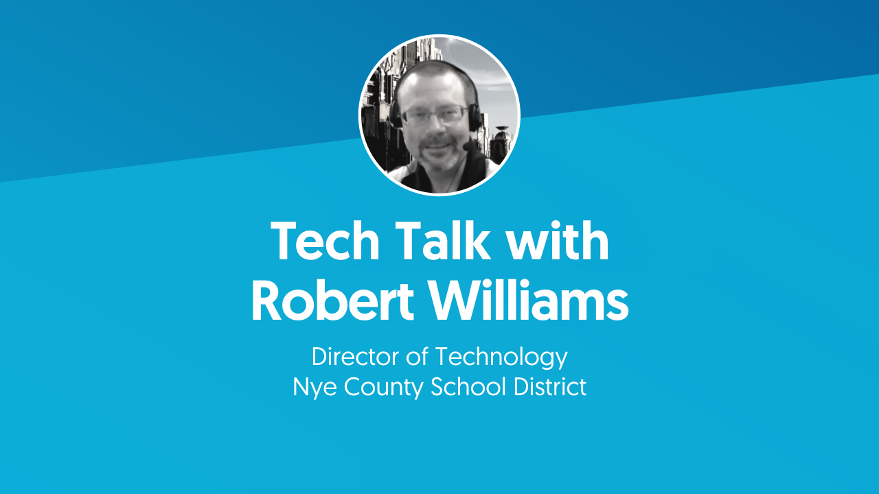 Tech Talk with Robert Williams Title Page
