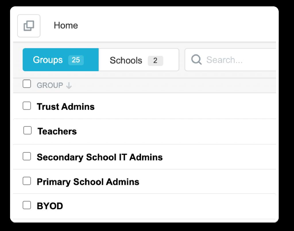 Multi Trust Academy Screen shot
